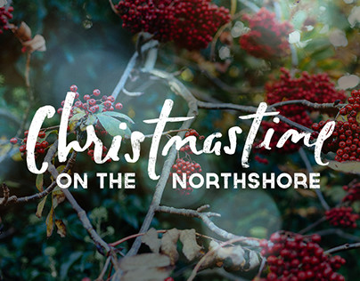 Christmastime on the North Shore Lettering Commission