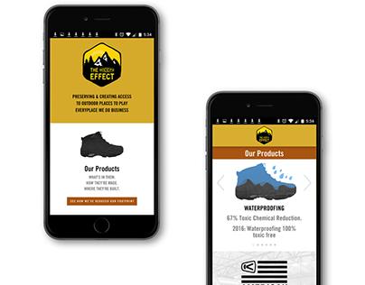 Keen Effect Mobile and Desktop Website