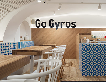 "Cafe Bar ""Go Gyros"" Saint-Petersburg"