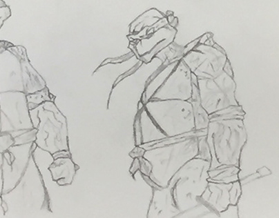 Ninja Turtle sketch