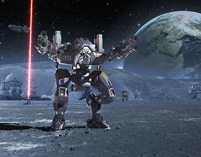 War Robots Promo Identity