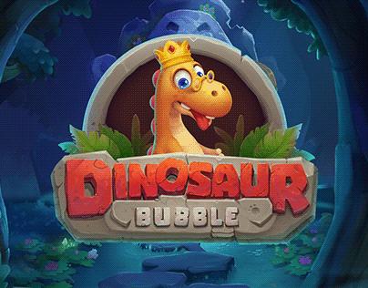 Game Art - Dinosaur Bubble