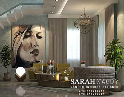 Modern living room #modern #3dmax #interior #vray