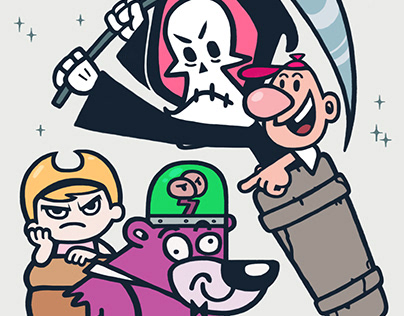 The Grim Adventures of Billy & Mandy / Evil con carne
