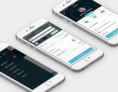 Zazz - UX application mobile