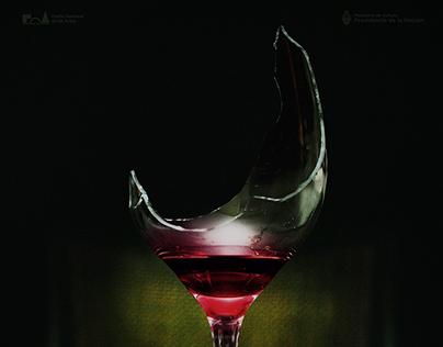 """Teaser-poster oficial del cortometraje """"Ícaro"""" (2017)."""