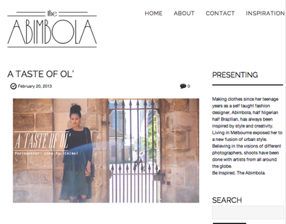 The Abimbola Website