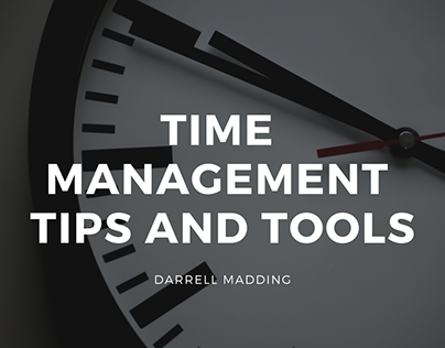 Time Management Tips and Tools