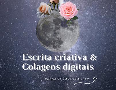 Escrita criativa & Colagem Digital (Personalizado)