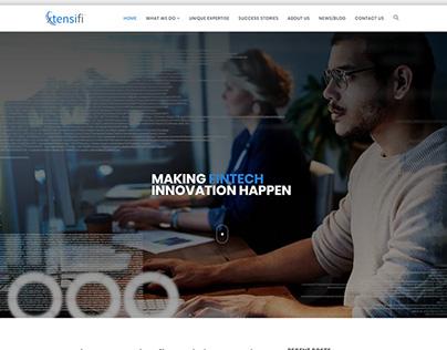 Xtensifi Web Design