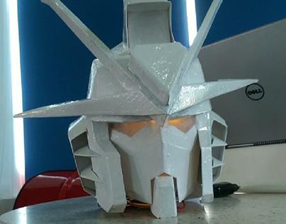 Freedom Gundam polyester helmet