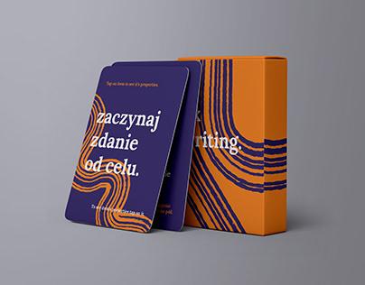 UX writing - UX card kit