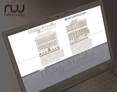 Palazzi di Genova web design