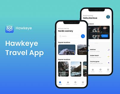 Hawkeye Travel App