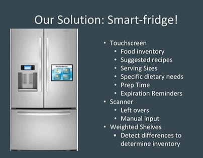 Smart Fridge - Product Design