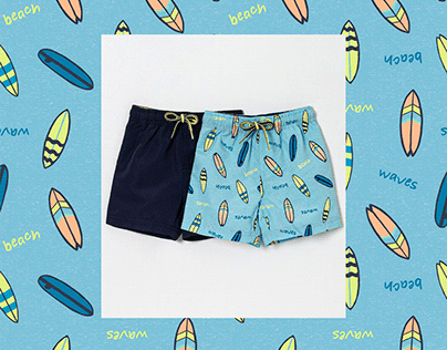 Colorful Surf - SS21 Baby Boys | Lojas Renner