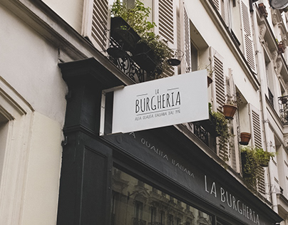 La Burgheria - BRAND ID