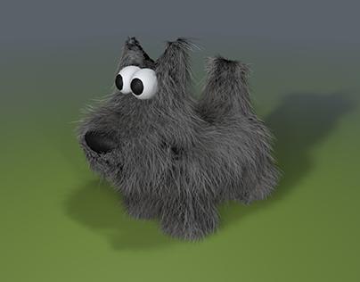 Scottish Terrier 3D Model