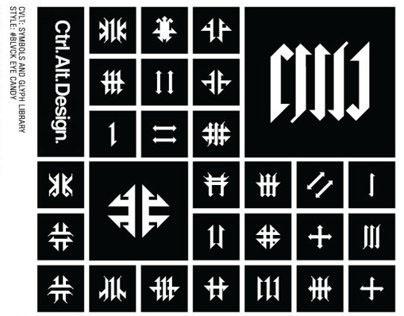 CVLT Vector Symbols Library by Ctrl Alt Design