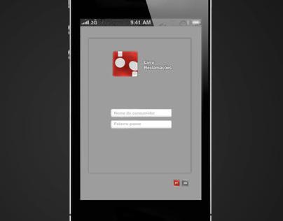 Livro Reclamações app