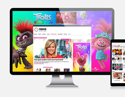 Trolls 'World Tour' movie release - Ad Concepts