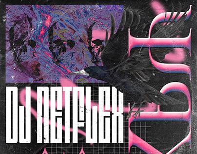"""DJ Netflex """"Cry Me A Raver"""" album artwork"""
