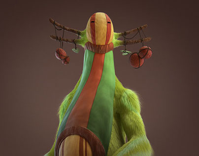 Rajak - The Big Furry Creature