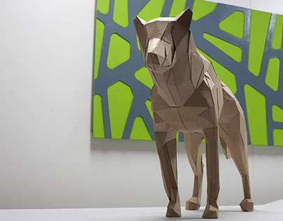 Cardboard Shepherd