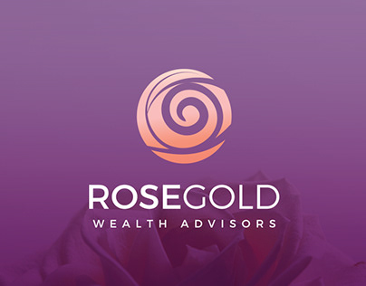 Rose Gold Logo Design