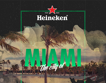 Heineken Cities - Webdesign