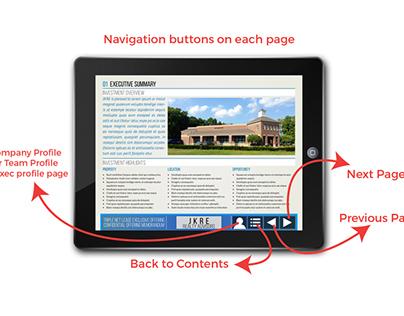 Interactive PDF Offering Memorandum Template