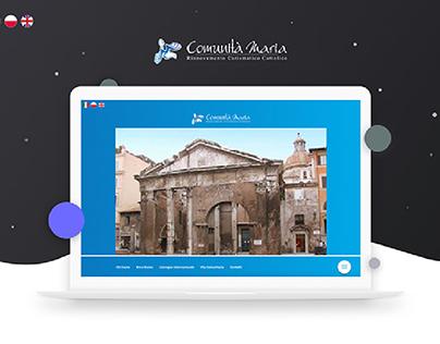Comunità Maria | Web Development & Design