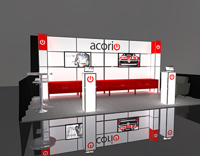 Acorio 10x20 booth