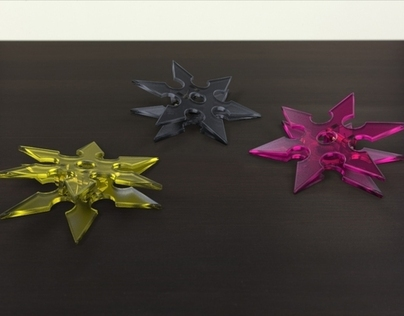 Ninja Star Magnetic Clip