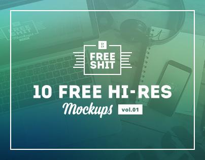 #FreeShit vol.1 - 10 Free Hi-Res iPhone & MacBook