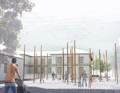 public space Pancevo competition