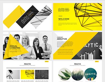 Corporate Powerpoint presentation Free Presentation