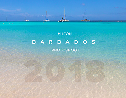 Hilton Barbados Resort - Hotel Photoshoot