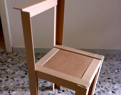 100% Cardboard Chair