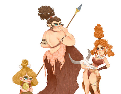 Girls from Stone Age