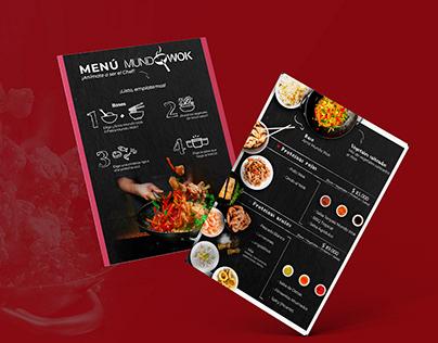 Menús - Mundo Sushi/Mundo Wok