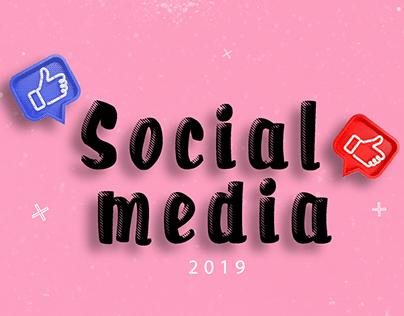 Social media 3 - 2019