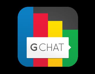 Gchat concept iOS app