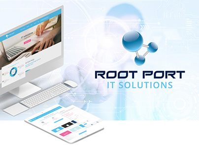 Root Port IT Website & Collaterals