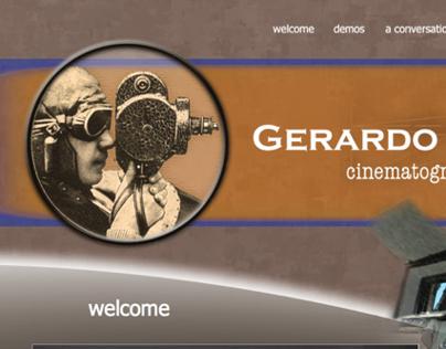 WEB DESIGN: Cinematographer's Site