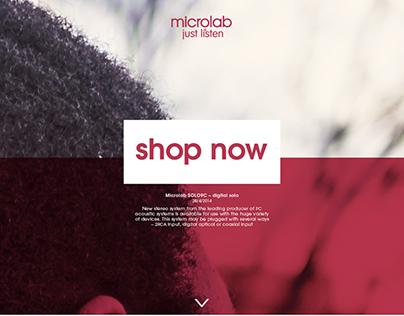 MICROLAB | web dsigen