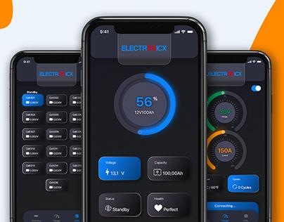 Electronix Mobile App Design