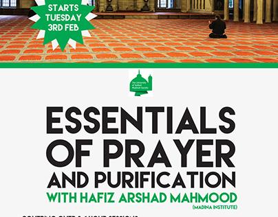 Essentials of Prayer Poster