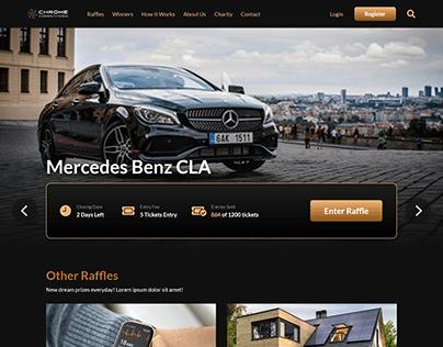Raffle Prize Website