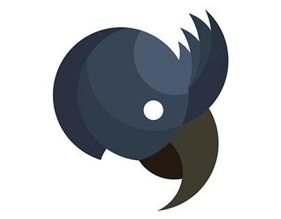 Papagaio de bico largo - Círculo proporcionais
